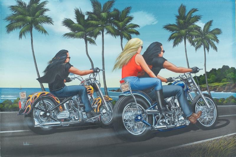 Quot Hawaii Haulin Quot Originals All Artwork David Mann