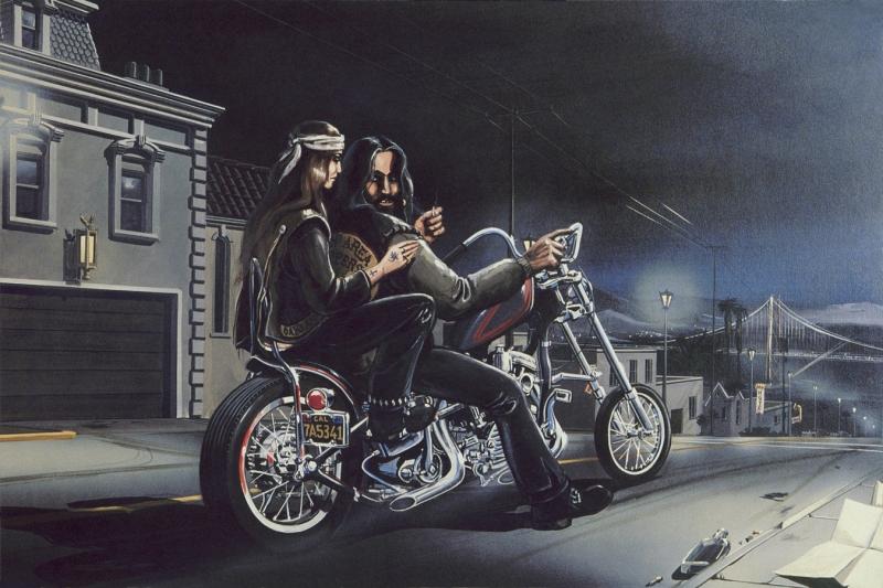 """Frisco Nights"" - Limited Editions - All Artwork - David ..."