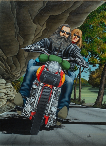 Quot Carnival Quot Originals All Artwork David Mann Rally